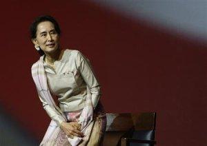 Myanmar's Suu Kyi
